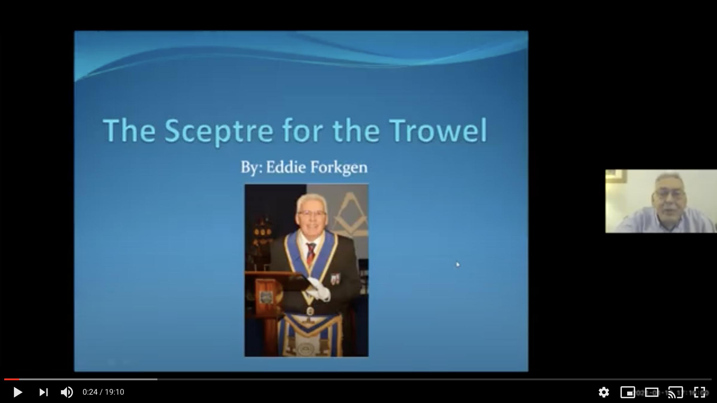 "Featured image for ""The Sceptre for the Trowel by Eddie Forkgen"""
